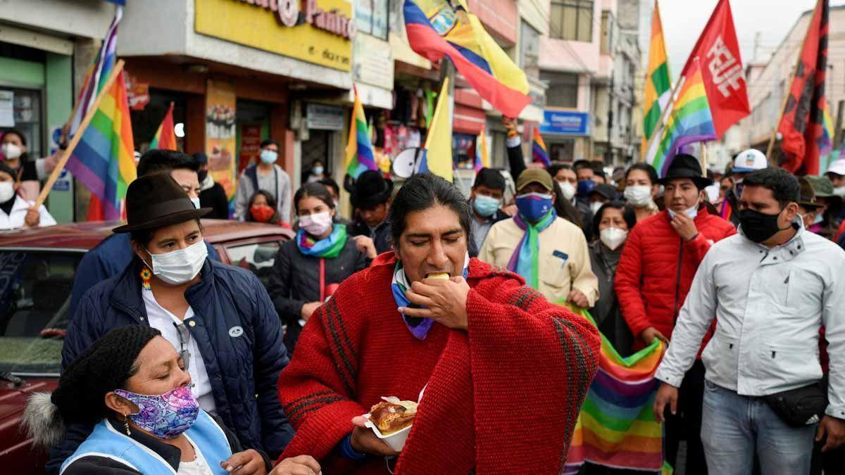 Yaku Pérez presenta otro recurso e insiste en el fraude electoral en Ecuador