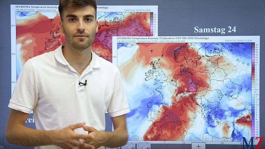 Die MZ-Wettervorhersage für das Wochenende vom 16. bis 18. Juli