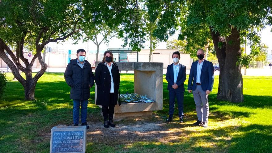 Huesca recuerda a los españoles caídos en los campos de concentración