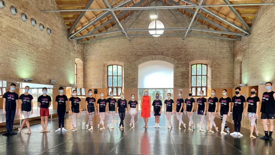 Hortensia Herrero visita el Campus Internacional Valencia Danza 2021