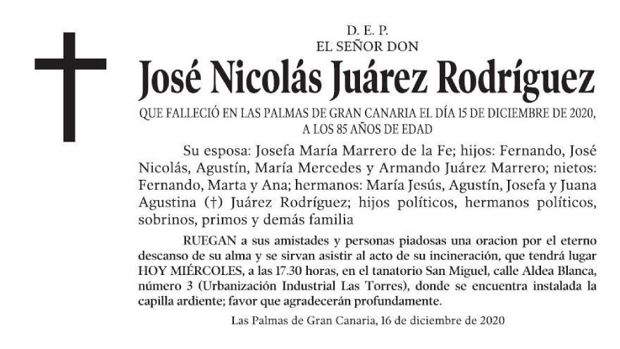 José Nicolás Juárez Rodríguez