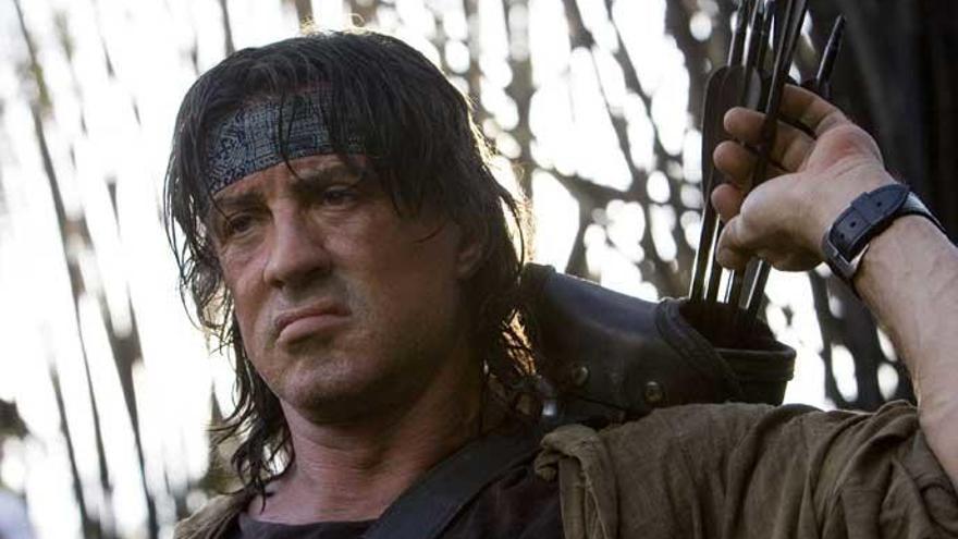 Així entrena Sylvester Stallone per a Rambo 5