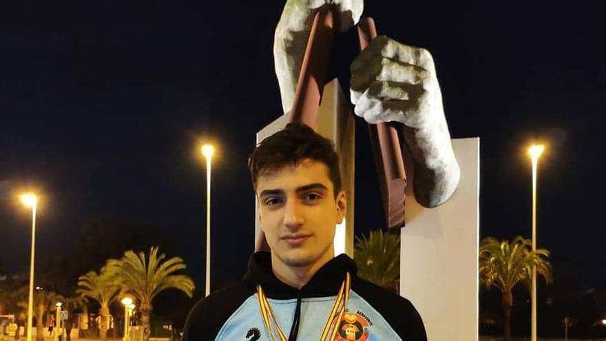Javier Huerga, del Socorrismo Benavente, repite en el podio en la Copa