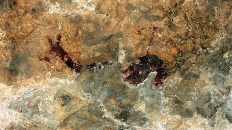 Cultura alerta de que el aval  de la Unesco al arte rupestre            de Tous llegará a largo plazo