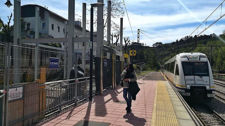 Avanza la obra de la pasarela que mejorará la seguridad de la estación de tren polesa