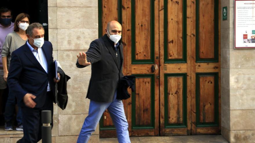 Madí, Vendrell i Soler segueixen detinguts fins a passar avui a disposició jutge