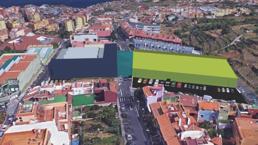 El nuevo complejo deportivo estará formado por tres edificios conectados
