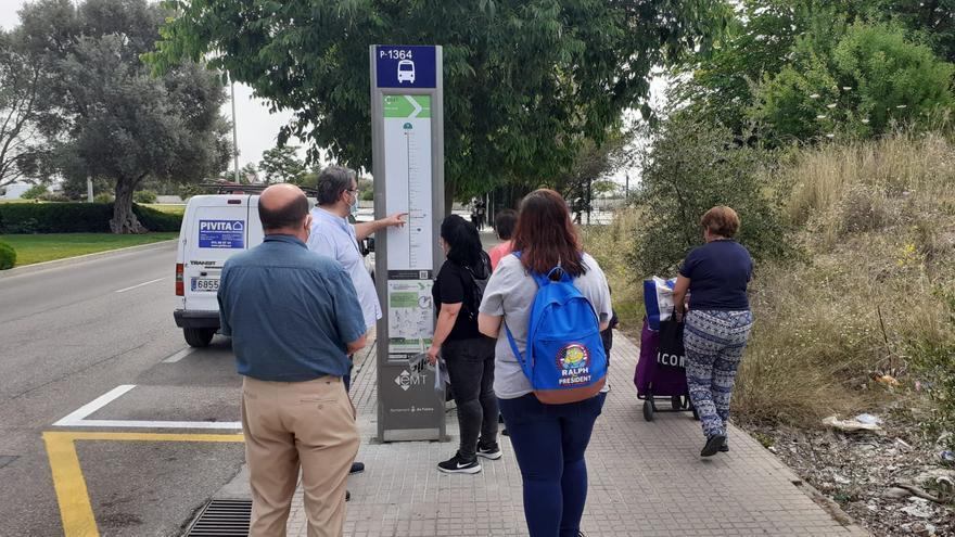 La línea 7 de la EMT da servicio desde hoy a Son Puig y Son Roca