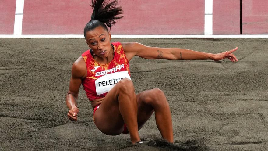 Peleteiro, tercera medallista olímpica en atletismo