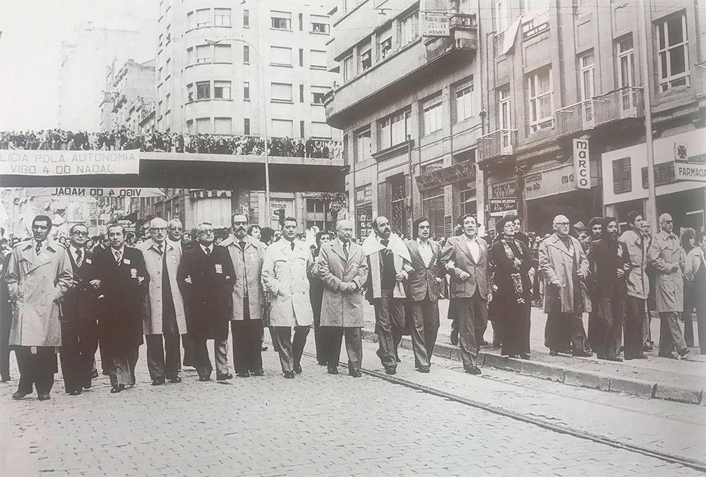 """Del fletán al """"¡Pases pro bus!"""": 12 manifestaciones históricas de Vigo"""