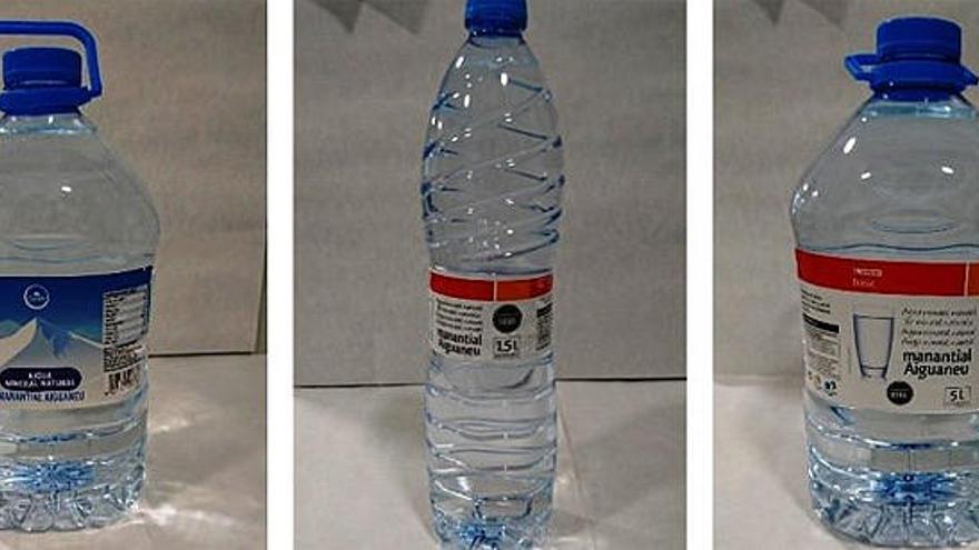 Eroski y Condis retiran un lote de agua mineral de marca blanca por una alerta sanitaria