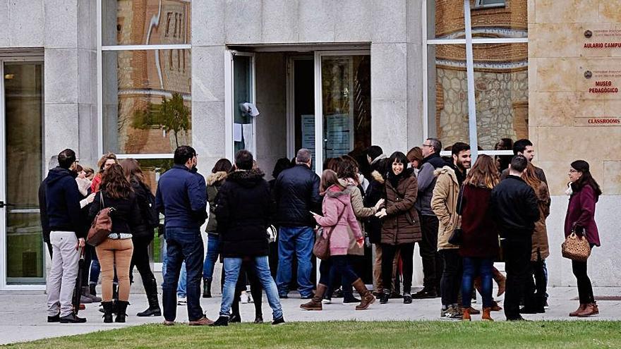 La Escuela de Enfermería de Zamora acoge el día 11 la prueba de Medicina Física y Rehabilitación