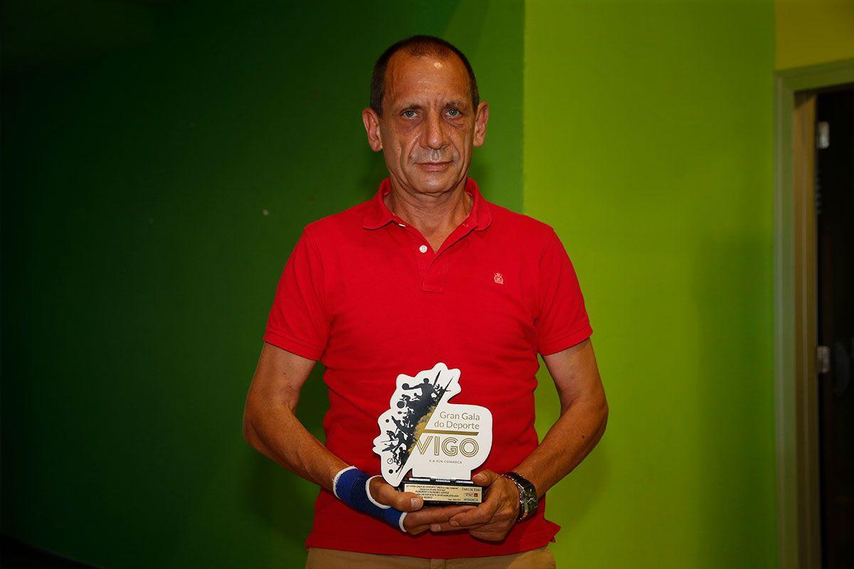 El padre del boxeador Alberto Loureiro