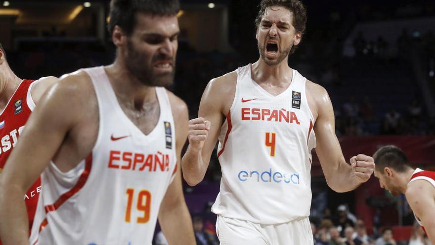 España doblega a Rusia y se alza con el bronce del Eurobasket