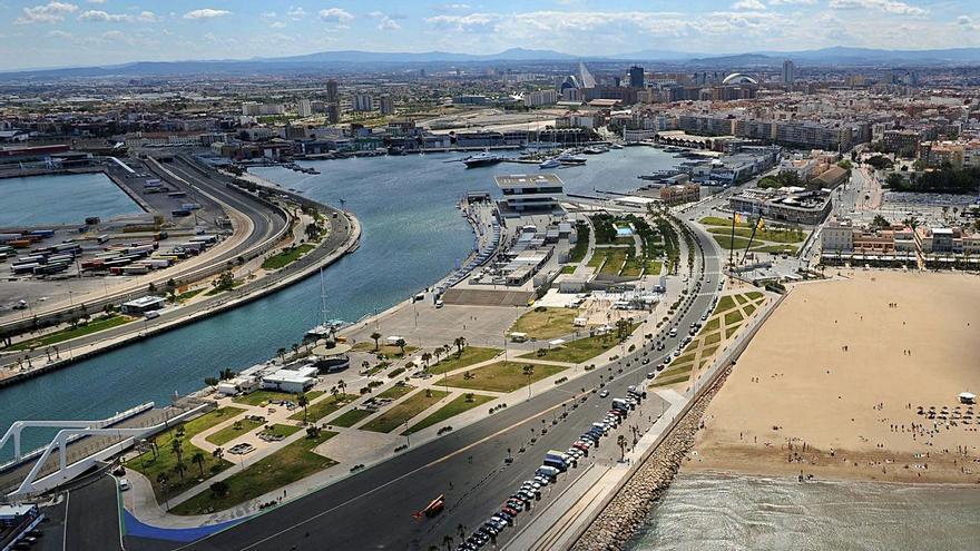 Valencia recibió sin coste 158.000 metros del puerto en 2012 para integrarlos en la ciudad