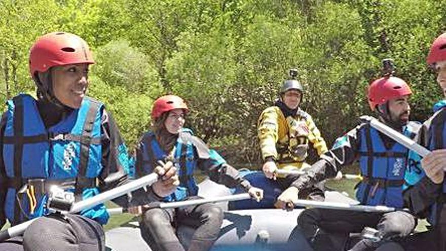 «Aire Lliure» recorre el Pallars amb Cindy Lima i Clara Segura