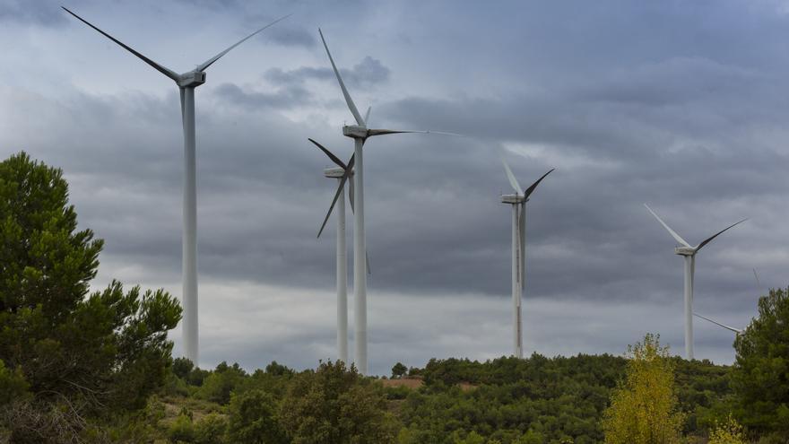Muere un trabajador de 36 años tras caer de un molino eólico de 45 metros de altura en Asturias