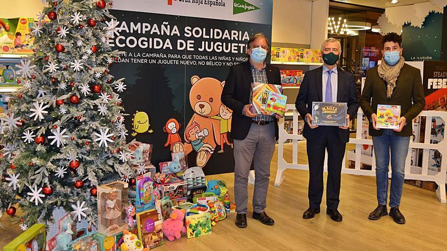 Recogida solidaria de juguetes en Navidad