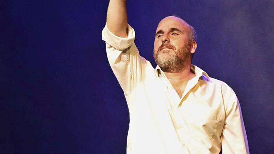 """Carlos Mesa: """" '¡Ay, Carmela!' es una obra para que el público reflexione"""""""