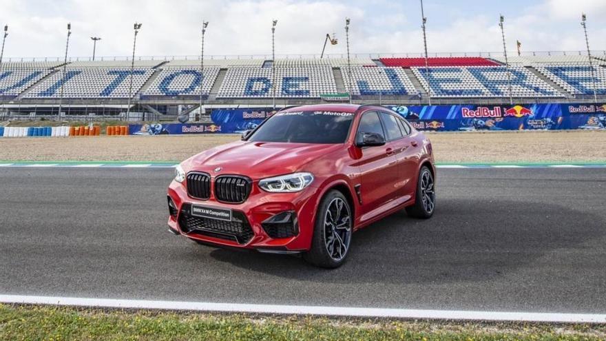 BMW X4 M Competition: El futuro coche del piloto más rápido de MotoGP 2019
