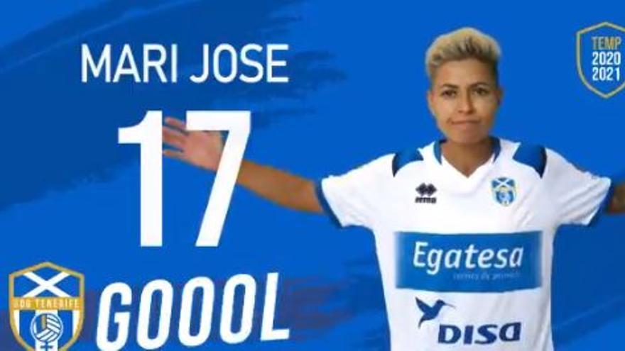 La felicitación más especial a María José  Pérez