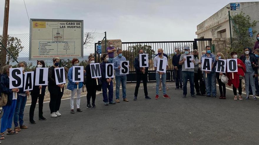 El bipartito, sobre el uso público del faro del Cabo de la Huerta: «Tenemos ahora otras prioridades»