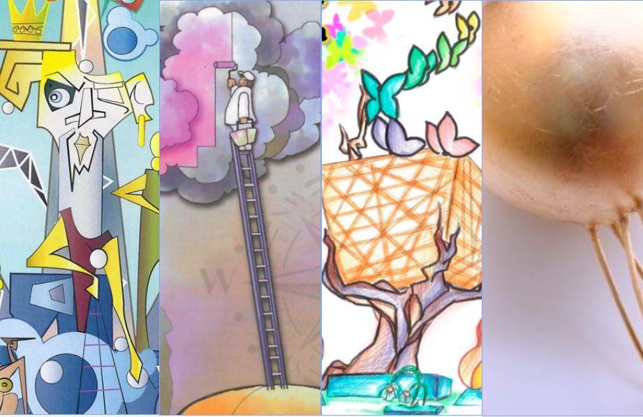 Fallas 2021 - Bocetos de la Sección Octava B