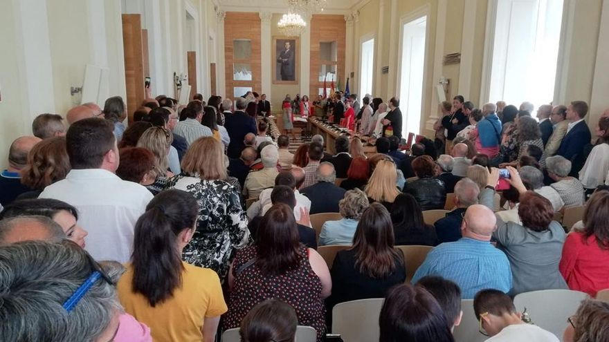 Cs no entrará en el gobierno del Ayuntamiento de Cáceres