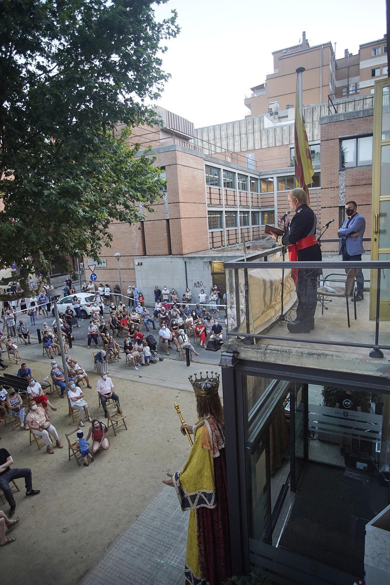 Pregó de la Festa Major de Salt amb l'actor Toni Albà