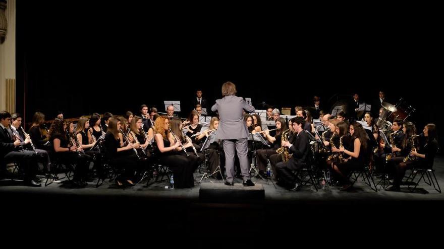 La Banda de Música de Zamora celebra Santa Cecilia en el Principal