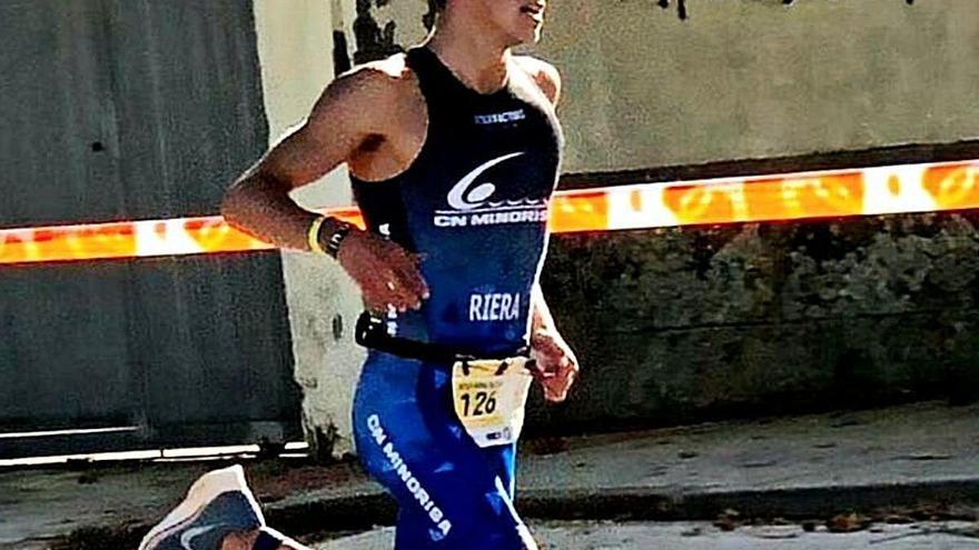 El triatleta manresà Miqui Riera és tercer al campionat d'Espanya cadet