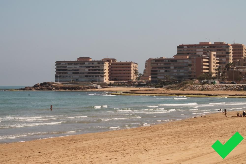 Playa La Mata - Cabo Cervera. Torrevieja.