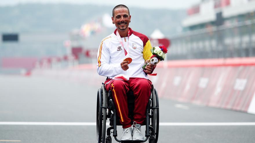 Sergio Garrote gana el bronce en ruta y suma su segunda medalla en Tokio
