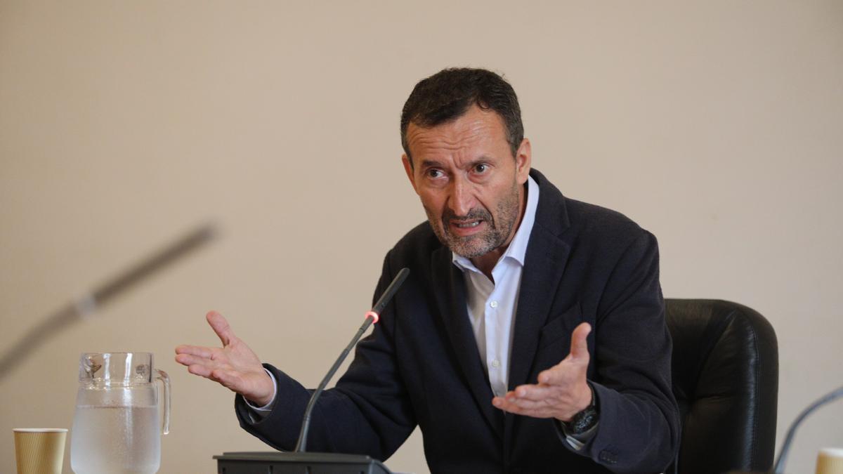 El alcalde de Elche, Carlos González. Antonio Amorós
