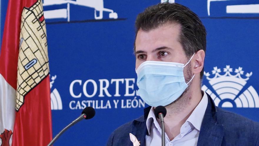 """Tudanca traslada a Mañueco que no participará en su """"farsa"""" de los fondos europeos"""