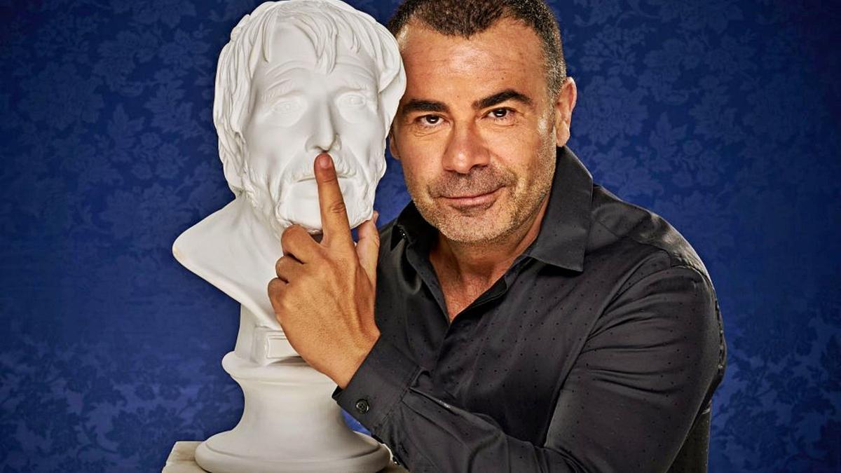 Jorge Javier Vázquez en  una imagen promocional de  'Desmontando a Séneca'.  l.o.