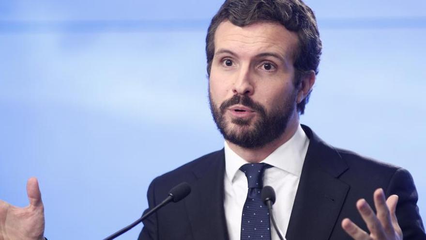 """Casado carga contra Sánchez: """"España va mal y tiene visos de ir peor"""""""