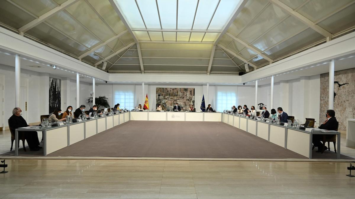 Una imagen del Consejo de Ministros.
