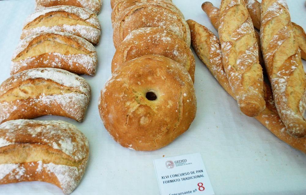 2º premio de panes tradicionales Horno Los Artesanos. Valencia