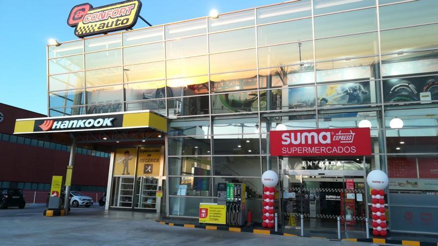 GM Food abrirá supermercados Suma en las gasolineras y talleres de Confortauto