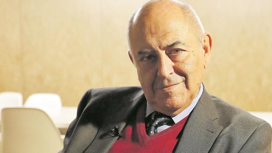 """José Antonio Marina: """"La compasión es el único sentimiento exclusivo  del ser humano"""""""