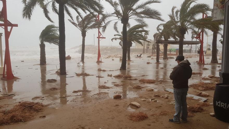 Castelló sufre un clima más extremo con temporales más dañinos y frecuentes