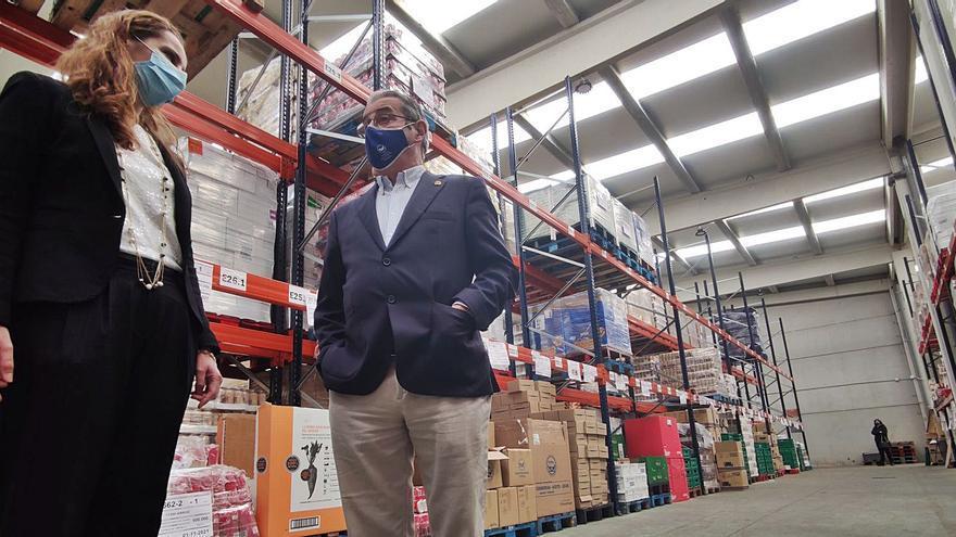 El Banco de Alimentos alcanzó los 21.700 beneficiarios, un 15% más que otros años por culpa del covid