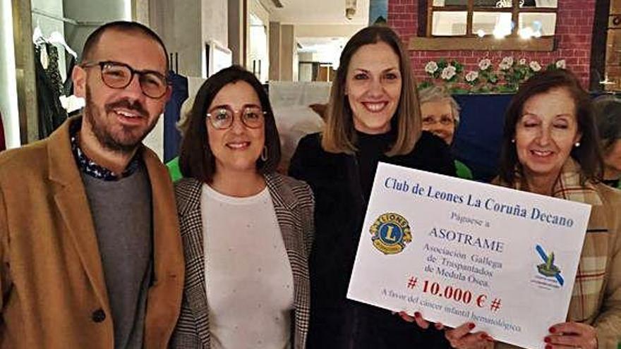 Donación de 10.000 euros para reforzar el sistema inmunitario de los niños trasplantados