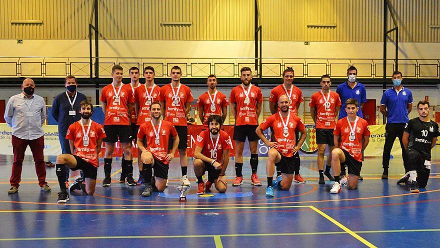 El Xàtiva Voleibol queda subcampeón de la Copa CV tras caer ante el Almoradí