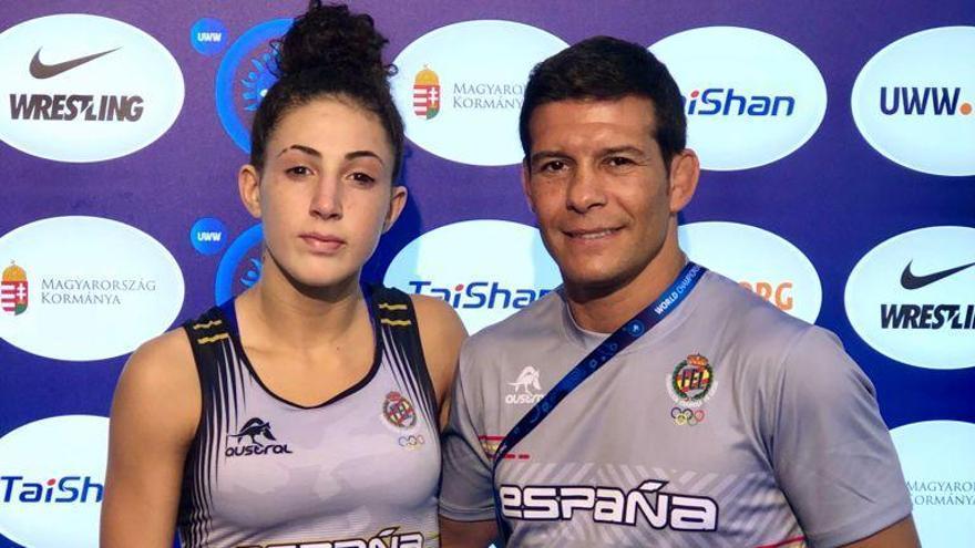 Carla Jaume llega a octavos en el Mundial de Budapest de lucha