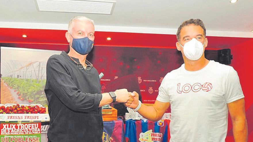 Luis García se cita con Pep Barceló en sa Pobla