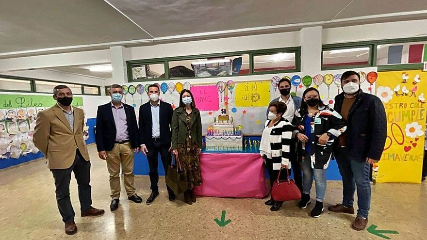El colegio Ramón y Cajal de Águilas celebra su 50 aniversario con actividades lúdicas y culturales