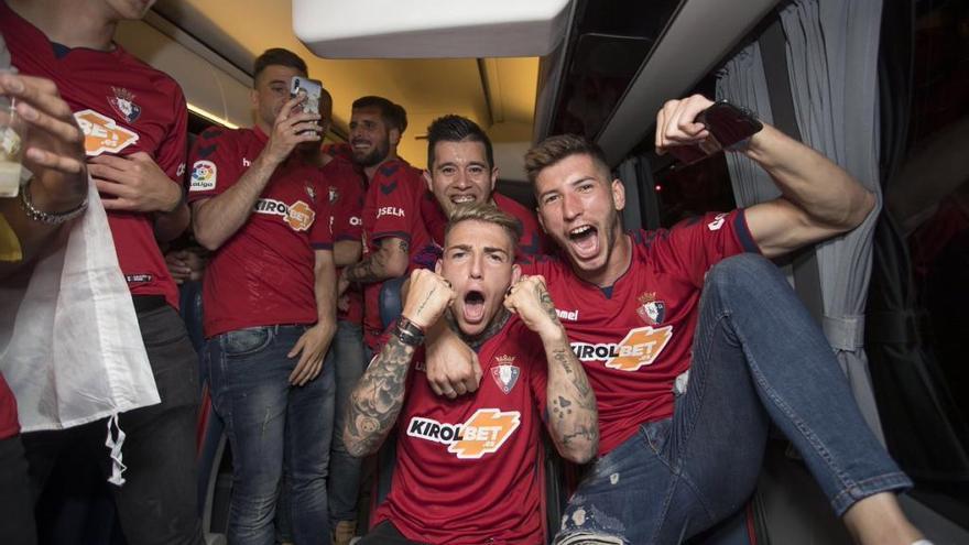 Brandon celebra el ascenso de Osasuna en euskera