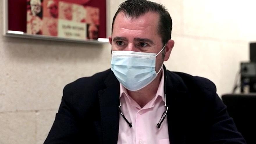 """Lorenzo Navarro: """"El Govern no debe meterse en la negociación salarial porque no le compete"""""""